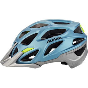 Alpina Mythos 3.0 L.E. Casco, blue metallic-neon